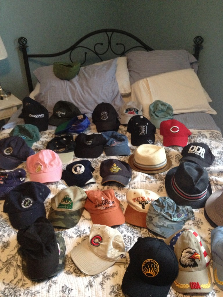 Seriously.  I don't even wear baseball hats!